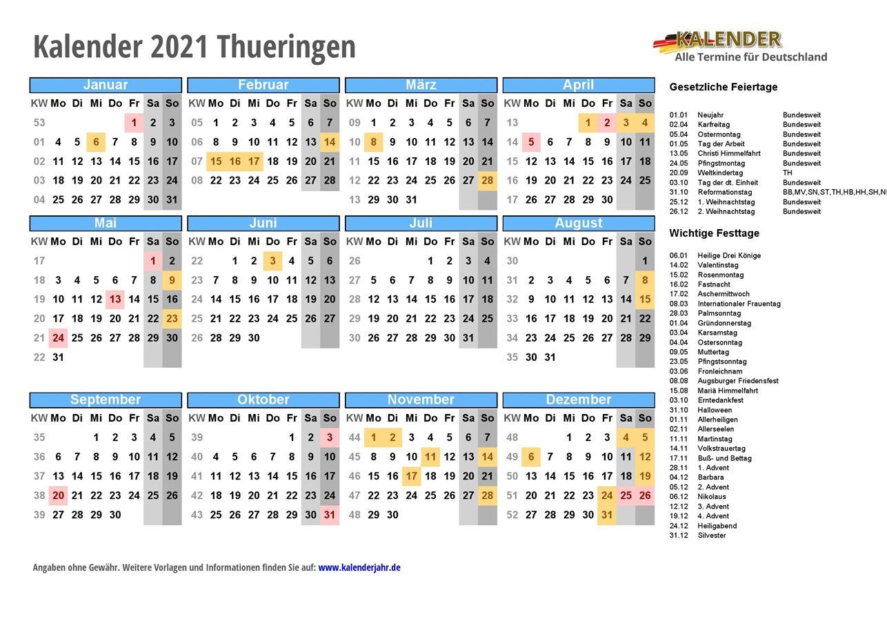 Wahl Thüringen 2021